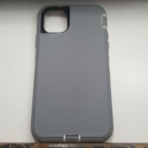 """Case for iphone 11 Pro Max 6.5"""" gray-white new"""